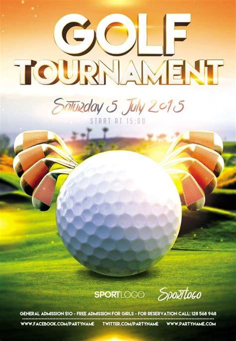 Awesome Golf Tournament Flyer Psd Images Kk Gol And Golf Invitation Template Free Tournament Golf Tournament Flyer Template