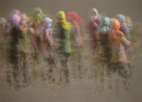 in pastels yongjie dai inthemidst ofdesertstorm78x110cm soft pastel