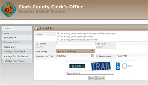 Clark County Records Marriage Clark County Marriage Records Search Marriage Records
