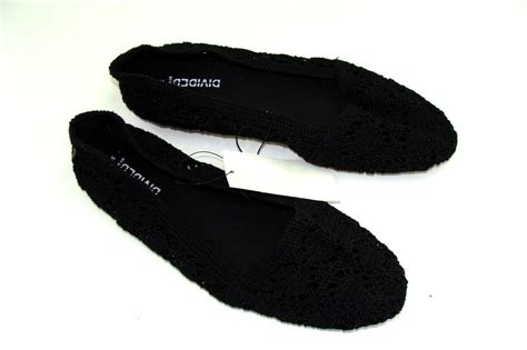 h m flat shoes h m ballet flats size 6 black new shoes crochet s ebay