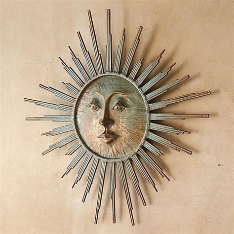 Sun Wall Decor Outdoor by Radiant Sun Outdoor Wall Traditional Artwork By