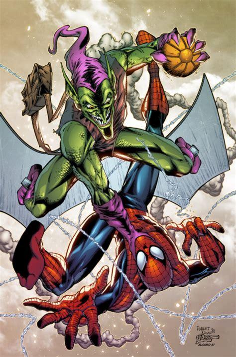 spidey  green goblin alonso espinoza green goblin