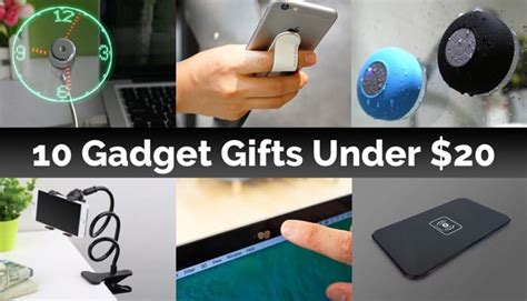 gadget gifts 10 gadget gifts for less than 20 geeky gadgets