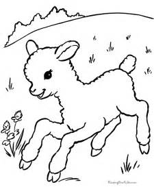 color sheep free free coloring pages of templates of the lambs