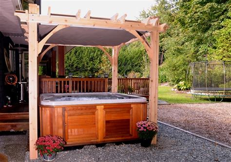 8 x 8 pergola backyard pergola 8x8 spa shelter outdoor living