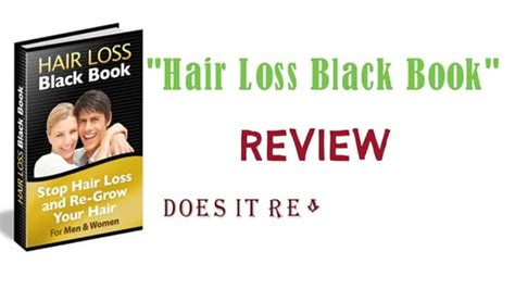 download hair loss black book free hair loss black book review the pros cons