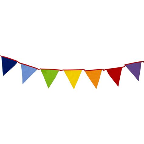 Bunting Flag Banner 100 cotton bunting carnival multi coloured 10m 33