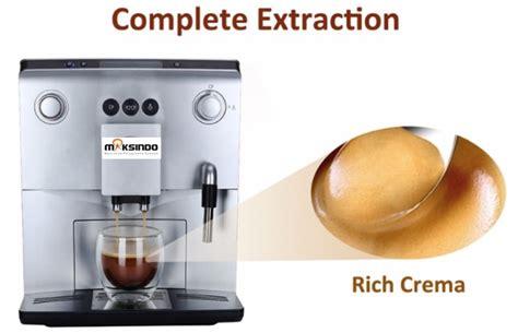 Mesin Kopi Espresso Maksindo mesin kopi espresso otomatis mkp60 toko mesin