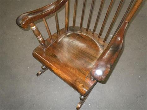 ethan allen hitchcock rocking chair ethan allen barnstable stenciled rocking chair rocker