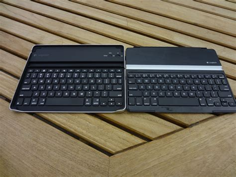 Keyboard Logitech Ultrathin ultrathin keyboard cover and logitech bluetooth keyboard isource