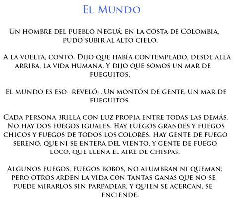 5 Resumenes De Libros Cortos by 22 Cuentos Cortos De Eduardo Galeano Im 225 Genes Taringa