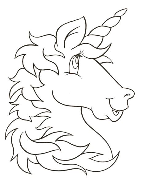 Free Printable Unicorn Coloring Pages Kids Printable Unicorn Coloring Pages
