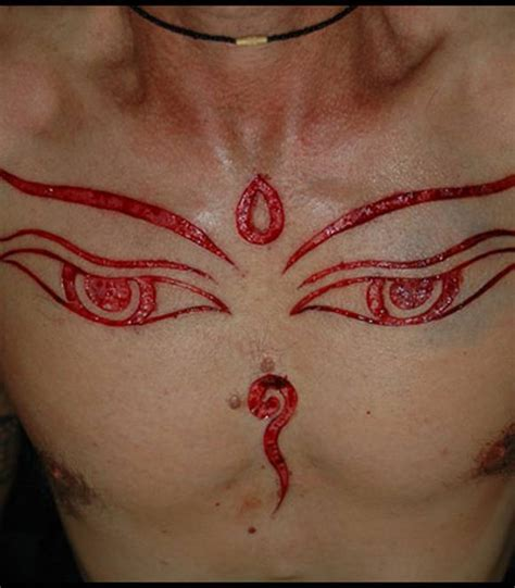 thriller scarification tattoos gallery amazing images