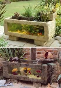 wow 22 small garden or backyard aquarium ideas will blow