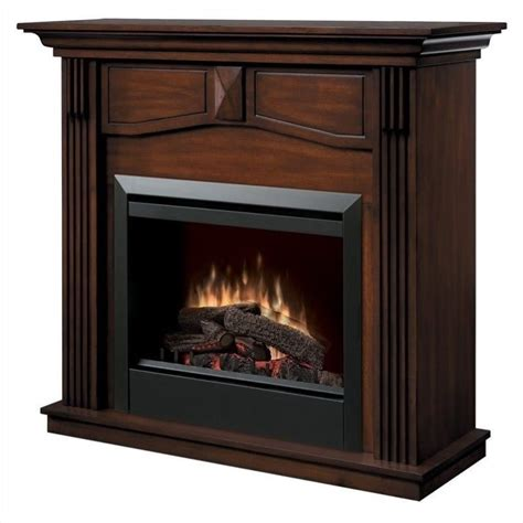Free Standing Fireplace by Dimplex Holbrook Free Standing Electric Burnished Walnut