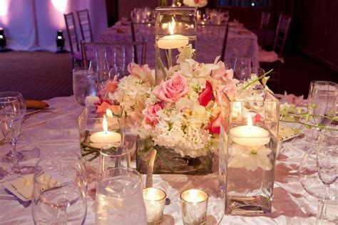 Wedding Decor Flower Candles by 37 Stunning Wedding Candle Centerpieces Table Decorating