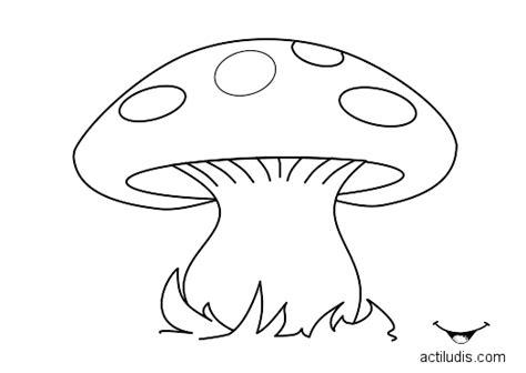 imagenes de hongos faciles para dibujar dibujos setas para colorear imagui