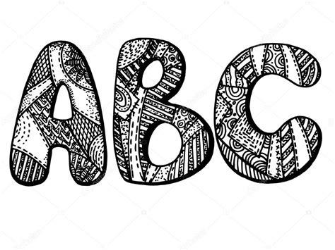 lettere dell alfabeto stilizzate lettere dellalfabeto vettoriali stock 169 vitatarpan 43706587