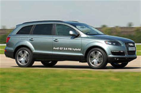 audi q7 in hybrid audi q7 hybrid postponed autocar