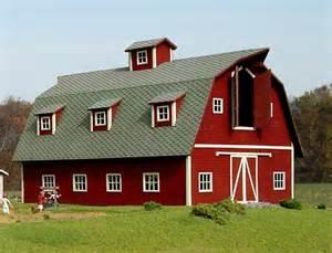 Barn On A Dairy Farm Http I Ebayimg T Country Farm Dairy Barn W Hay