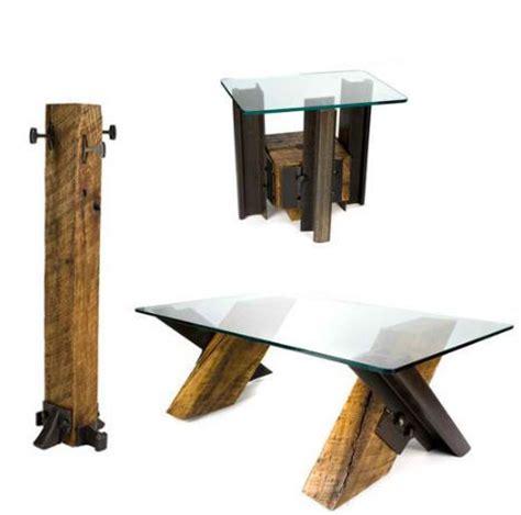 Railroad Furniture by Railroad Tie Furniture Diy