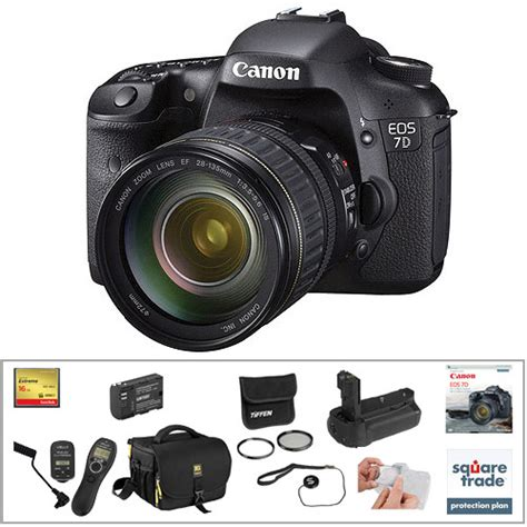Canon Eos 7d Bo canon eos 7d dslr with 28 135mm lens deluxe kit b h photo