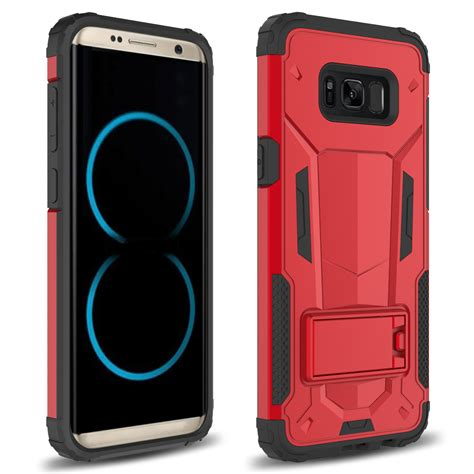 Hardcase Doff Samsung S8 for samsung galaxy s8 zizo hybrid future armor cover phone kickstand