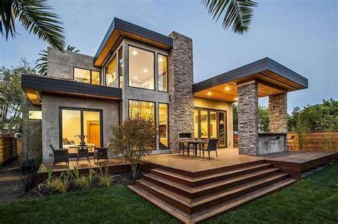 popular modern dream house exterior design ideas