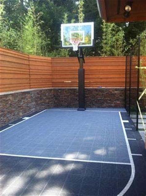 backyard basketball court ideas 25 best ideas about backyard basketball court on