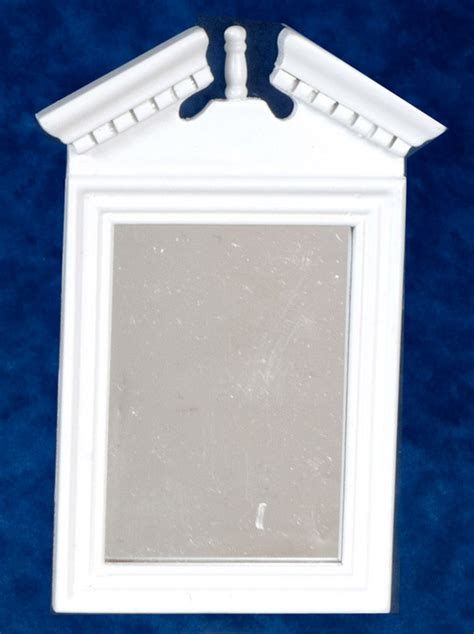 fashioned bathroom accessories fashioned bathroom mirror white s dollhouse