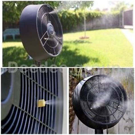 outdoor pedestal misting fans misting fan outdoor stand tower pedestal oscillating floor
