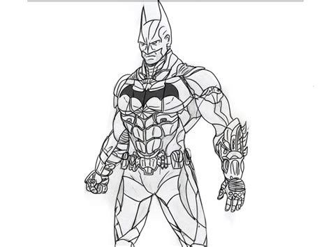 coloring pages batman arkham knight batman arkham knight by thecoolminecraft on deviantart