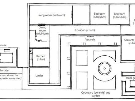 ancient villa floor plan ancient bedroom ancient villa floor plan
