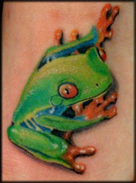 cute small frog tattoos great frog pictures tattooimages biz