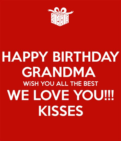 Happy Birthday I Wish You All The Best In 100 Birthday Wishes For Grandmother