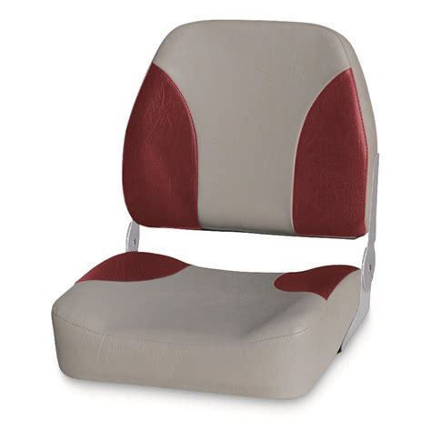 red fishing boat seats wise premium big man fishing boat seat 96435 fold down