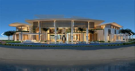 House Plans Waterfront by Amazing Modern Contemporary Mansion In Dubai Homes Of