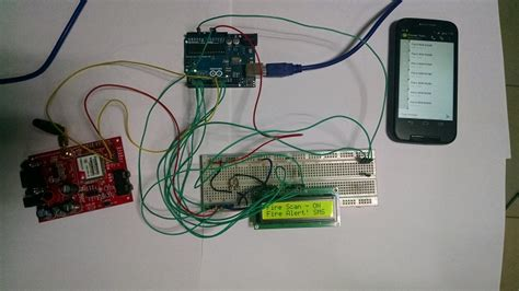gsm based sms alert alarm system using arduino