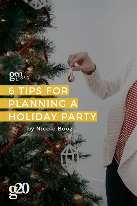 6 tips for planning a holiday party with friends gentwenty