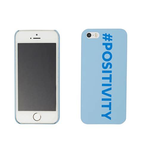 Iphone 5 5s Blue positivity phone iphone 5 5s blue cybersmile