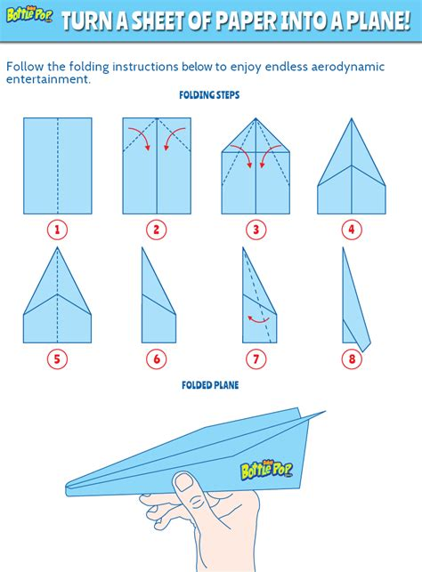 3d Paper Airplane Templates