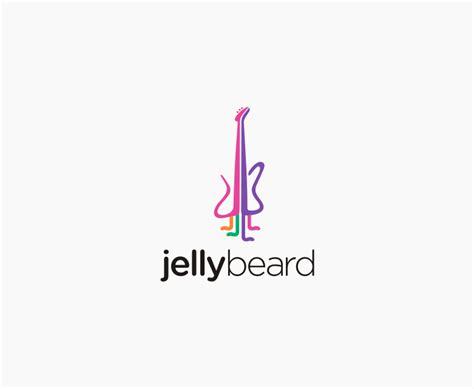 design a music logo jellybeard logo design hiretheworld