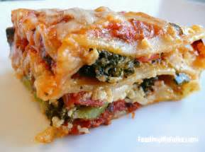 vegetable lasagna feeding my folks