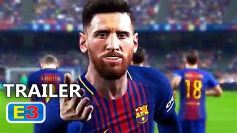 Bluray Ps4 Pes 2018 ps4 pes 2018 trailer e3 2017