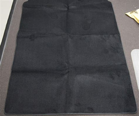ford transit connect rear cargo mat pc black carpet