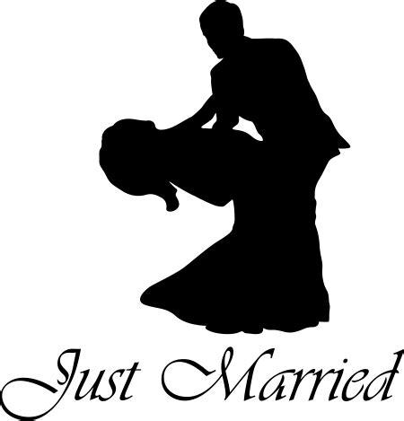 Aufkleber Ringe Hochzeit by 60cm Just Married Hochzeit Heiraten Ringe Autoaufkleber