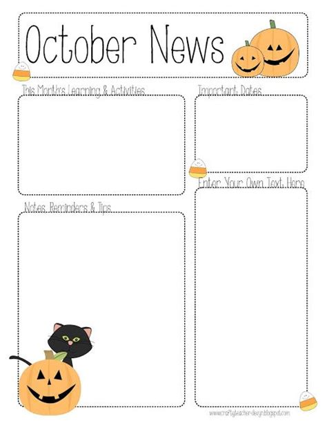 monthly preschool newsletter template 17 best ideas about preschool newsletter templates on