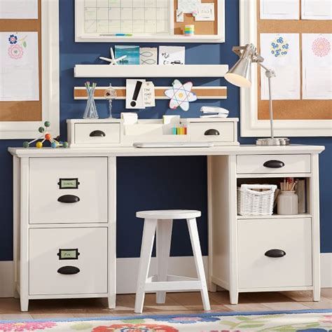 desks with storage chatham large file storage desk hutch pbteen