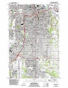 tacoma california map tacoma south topographic map wa usgs topo 47122b4