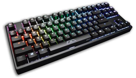 mk disco rgb led tkl mechanical keyboard kbt blue